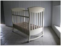 Кроватка Грация Кнопка с ящиком