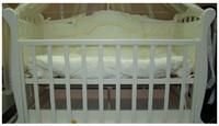 Детская кроватка Трия Весна Новая+маятник (скош.быльце)
