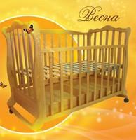 Детская кроватка Трия Весна на поперечном маятнике