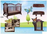 Детская кроватка Трия Люкс + ящик + маятник
