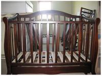Детская кроватка Трия Сказка Новая + ящик + маятник (скош.быльце)