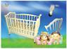 Детская кроватка Трия Сказка + ящик + маятник