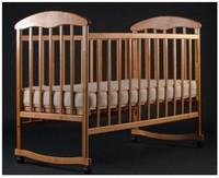Детская кроватка Харьков Наталка без ящика (ясень)