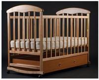 Детская кроватка Харьков Наталка с ящиком (ясень)