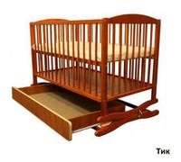 Детская кроватка Radek II (Польша) тик
