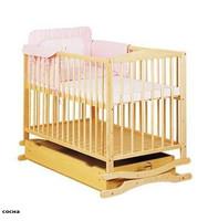 Детская кроватка Klups Twins Radek II (Украина) натур.