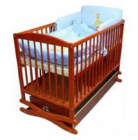 Детская кроватка Klups Twins Radek II (Украина), тик