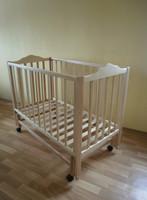 Детская кроватка Sonno ПКР-300 (new) светлая с ящиком