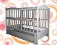 Детская кроватка Sonno KP-6 (белая)