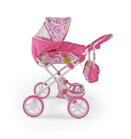 Коляска для кукол Milly Mally Paulina (pink)