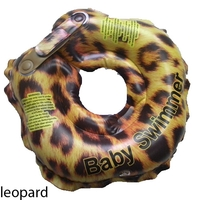 Круг для купания Baby Swimmer Glamour Леопард