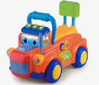 Машинка-каталка Alexis-Babymix PL318181