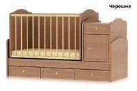 Детская кроватка-трансформер Bertoni TRANSFORM