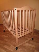 Детская кроватка Sonno KP-300 (ольха светлая) без ящика