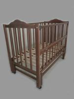 Детская кроватка Sonno ПКР-300 (new) темн без ящика