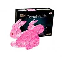 """Пазлы 3D- кристалл """"Кролик"""""""
