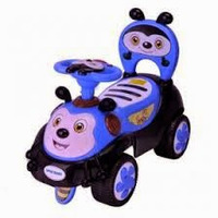 Машинка-каталка Alexis-Babymix 7625