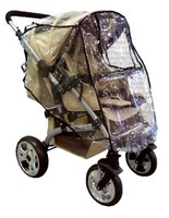 Дождевик для прогулочной коляски