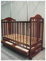 Кроватка Наполеон NEW (тонир. орех) Кнопка