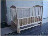 Детская кроватка SOFIA S-4 (без лака)