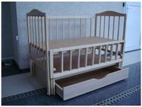 Детская кроватка SOFIA S-5 + ящик