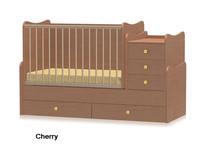 Детская кроватка-трансформер Bertoni MAXI PLUS