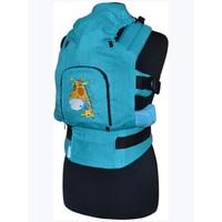 Эргономичный рюкзак Жирафик (бирюзовый)