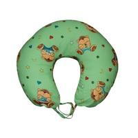 Подушка для кормления Мишки на зеленом