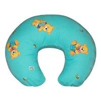Подушка для кормления Мишки на голубом