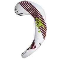 С-образная подушка для беременных Бамбук
