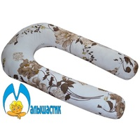 U-образная подушка для беременных Осенний букет
