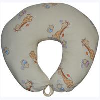 Подушка для кормления Жирафики на бежевом (улучшенная)