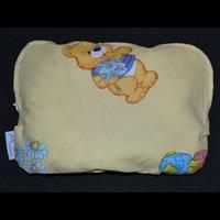 Ортопедическая подушка для новорожденных + съемная наволочка Мишки на желтом